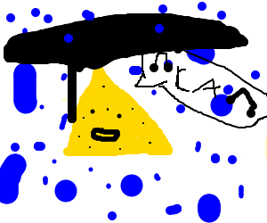 Cheese singing in the rain