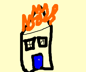 the roof, the roof, the roof is on fire