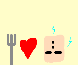Fork loves nonstandard outlet