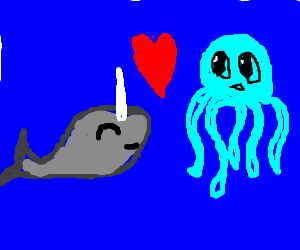 Narwhale and Octopus are best friends