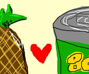Pineapple love story