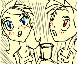 2 girls, 1 cup: Kid's Manga Edition