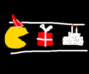 It's Pacman's birthday