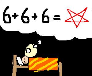 Dreaming of Devil math