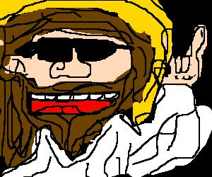 rocking jesus