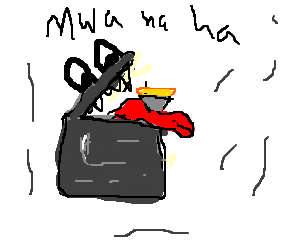 ominous xerox machine claims pie as victim
