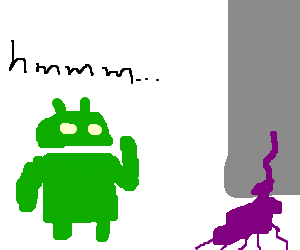 Android concerned by grape juice leak