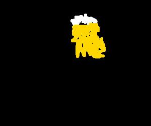 A man dreaming of beer.
