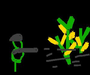 Third Battalion destroys Children of the corn