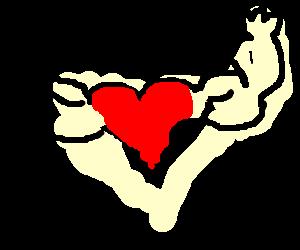 A strong heart.