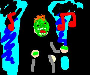 Zombie Rick Astley