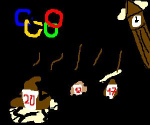 Olympics shit games London 2012