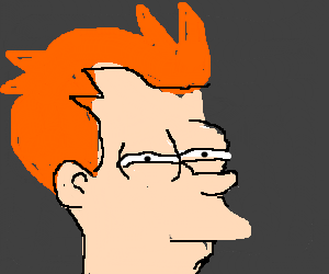 philip j fry thinking.
