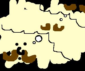 mustache-ception