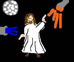 Jesus has saturday night fever