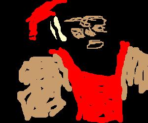 Manly Fuckin Santa