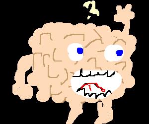 brain doing sexy dance