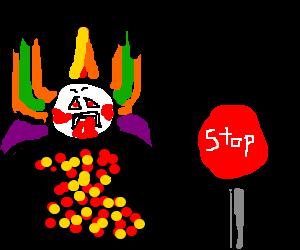 freaky clown stop
