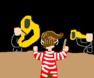 Hatless Waldo Conducts Symphony