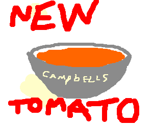 New! Campbell's tomato soup!