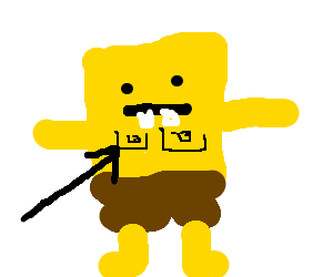 Sponge boob square nipple drawing by jeff7024 sponge boob square nipple voltagebd Gallery