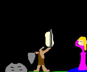 Look! I have a sword!