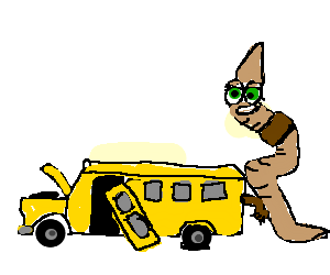 a brown earthworm humping a broken school bus drawing by tom24138 rh drawception com Magic School Bus School Bus Crash Clip Art