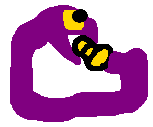 Ekans eating it's own tail