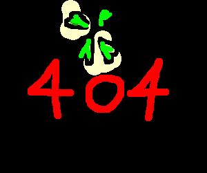 Not found: error 404