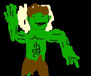 hulk dancing