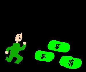 keanu reeves is chasing money