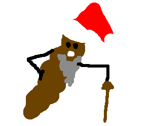 an Old version of Hanky the christmas poop!