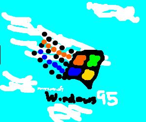 Windows 95 Start Screen