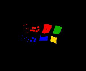 the windows flag of 95'