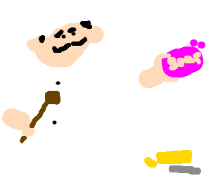 Chef uses soap instead of butter