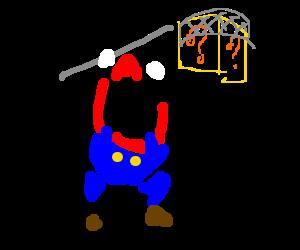 Mario nets a mystery box