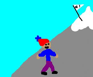 Sherpa on Mt.Everest
