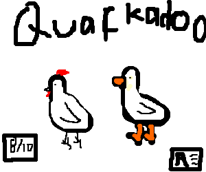 Rooster and Duck: A story of forbidden QUACKADOO