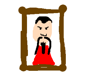 Ming the Merciless was framed