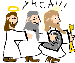 Gay religious figures: Jesus, Moses, Peter