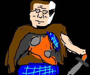 Hank Hill is the Highlander
