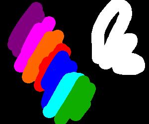 Rainbow ameba cumming