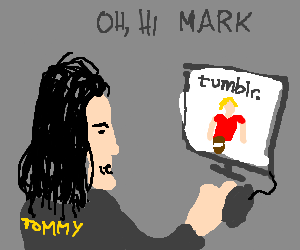 Tommy Wiseau uses Tumblr as his diary