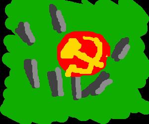 a comunist circel of stones