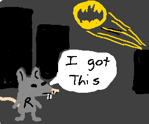 Ratman journeys to Gotham to help those in need