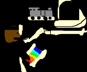 LeVar Burton (reading rainbow) singing about sex