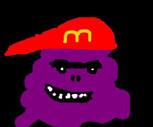 That creepy purple blob from McDonalds
