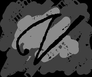 An elegant, beautiful 'V' in perfect cursive