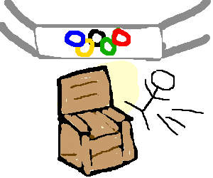 The furniture store olympics