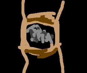 Owen Wilson's hairy armpit